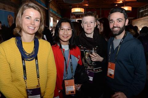 Rosie Garthwaite, Jennifer Zheng, Annalotta Pauly and Adam Sobel